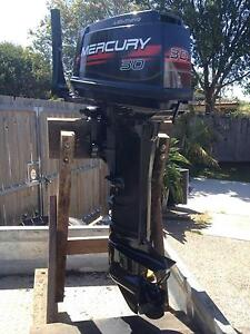 30HP MERCURY LONG SHAFT Taigum Brisbane North East Preview