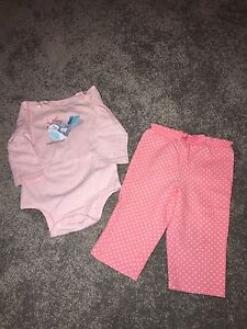 Girls size 9 months outfit