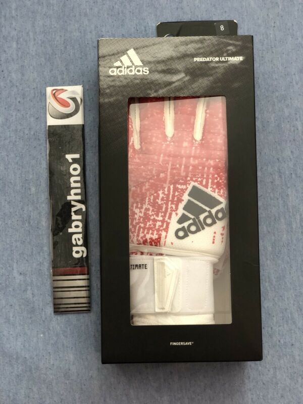 Adidas Predator Ultimate DN8583 Adult Size 8 Goalkeeper Soccer Gloves