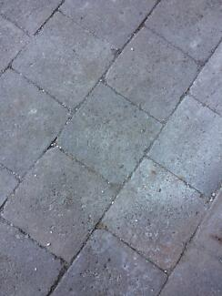 WANTED TO BUY: Grey Driveway Pavers: 220mm x 220mm x 60mm