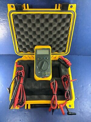 Fluke 16 Multimeter Good Condition Hard Case Accessories Screen Protector