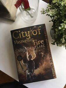 Brand New City of Heavenly Fire by Cassandra Clare