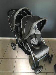 Vee Bee double stroller Two Wells Mallala Area Preview