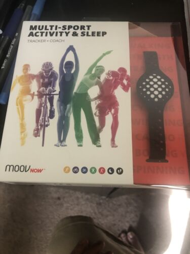 Moov NOW Personal Coach & Workout Tracker , Stealth Black