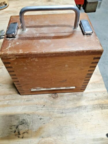Vintage HP Vertical Circle Survey Vertical Angle Tool for Distance Meter in Case