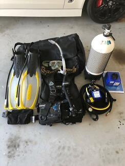 CRESSI Dive Gear excelent condition SOLD PENDING PICK UP