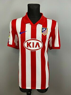 ATLETICO MADRID 2009 2010 HOME SHIRT FOOTBALL SOCCER JERSEY MAGLIA NIKE SIZE XL image