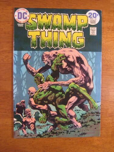 SWAMP THING #10 Wrightson! (VF+) Super Bright, Colorful & Glossy!
