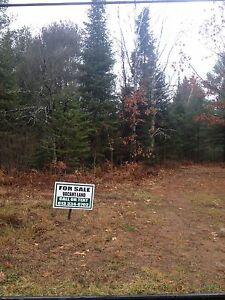 Two beautiful lots near the town of bancroft