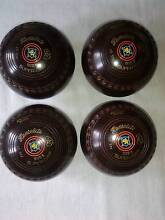 Lawn Bowls - Vintage Henselite - Set of 4 for $35 ono Wamberal Gosford Area Preview
