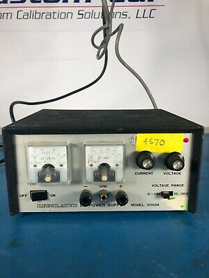 Electro Industries 3002a Regulated Dc Power Supply 0-30v 0-2a Lab Tested
