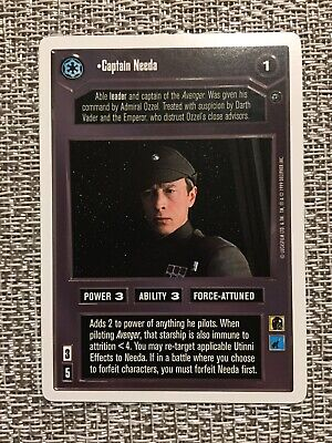 Star Wars CCG Dagobah Unlimited WB Asteroid Sanctuary