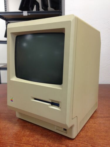 Vintage Apple Macintosh Plus 1 Mb Computer M0001A *For Parts*   OO204