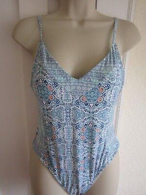 Ladies size 12 Cikada Australia blue mix swimming costume - Ladies Costumes Australia