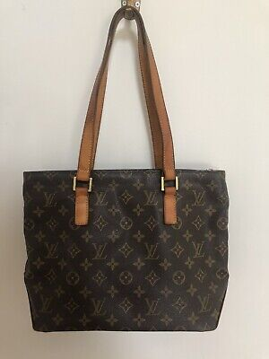 Authentic Louis Vuitton Monogram Cabas Piano Tote Bag Made In France