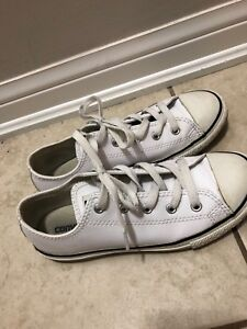 All leather converse