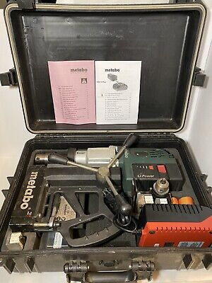 Metabo 28v Cordless Electro Magnetic Core Drill Mag 28 Ltx 32