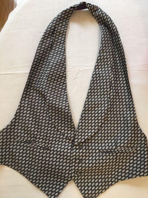 Ralph Lauren Purple Label Imported Silk Formal Wedding Vest Made In England L