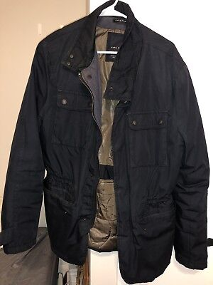 Men's Zara Man jacket Quilted Coat XXL Designer Outerwear MSRP $130 for sale  Chicago