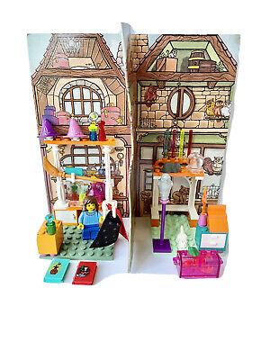 100% complete, pre-owned LEGO Harry Potter Diagon Alley Shops 4723, vintage 2001