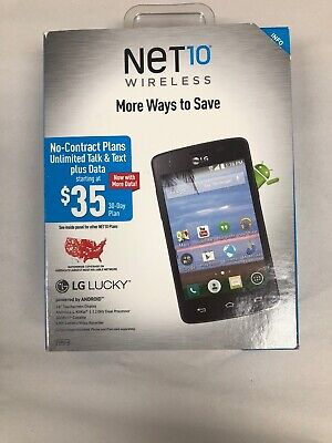 Net10 Wireless LG Lucky L16C Prepaid Android Smartphone (Handys Net 10 Android)