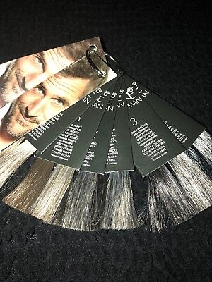 Keune Color Man Hair Color Chart Swatch  Chart, used for sale  Minneapolis