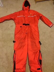 Buoy-O-Boy Anti Exposure flotation suit size large