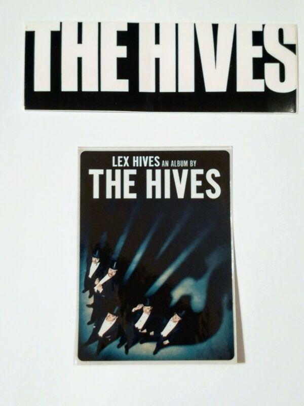 Hives Lex Hives Tyrannosaurus Hives Promo Sticker Lot 2012 2004 Rock Decal