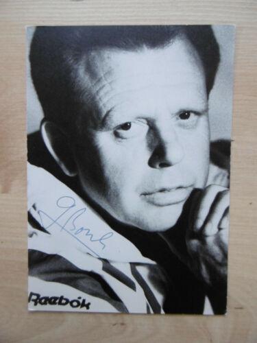 Günther Bosch Autogramm signed 10x15 cm Postkarte s/w