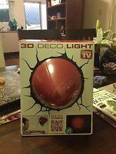3D football deco light Woree Cairns City Preview