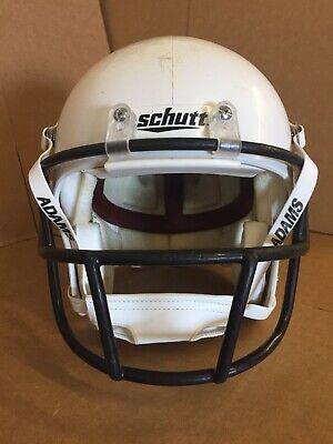 """New Set Schutt Air Universal 1 1//4/"""" Firm Black Football Helmet Jaw Pads"""