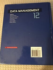 Textbook - Data Management 12
