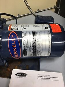 1/2 hp motor with well pump