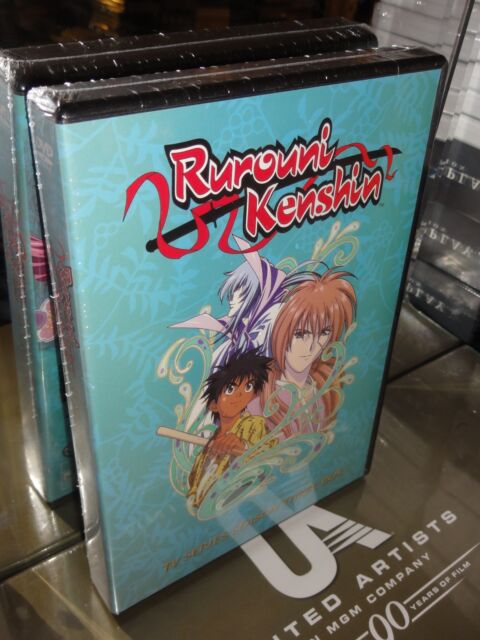 Rurouni Kenshin - TV Series: Season 3 (DVD) 8-Disc Set, Kazuhiro Furuhashi, NEW!