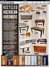 Cafe tables made to order Recycled wood Gladesville Ryde Area Preview