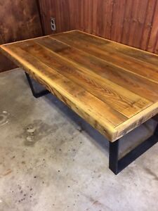Reclaimed handcrafted coffee table