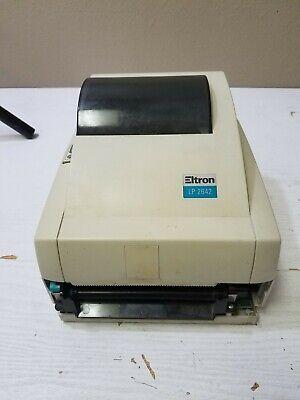 Vintage Eltron Lp 2642 Lp264psat Thermal Label Printer Missing Bezel