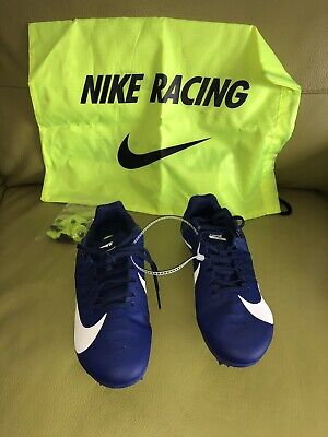 reputable site 970fa b4692 New Nike Mens Zoom Rival S Track Spike Shoes 907564-401 sz 6.5