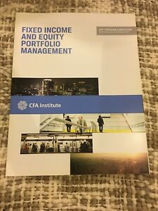 Fixed income and equity portfolio management