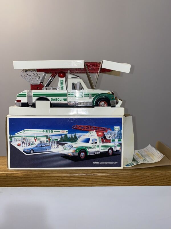 Hess Christmas 1994 Collectible Rescue Truck Toy In Box and original packaging
