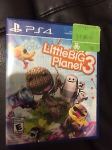 Little Big Planet 3 PS4 $35 OBO