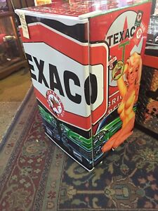 Custom Texaco bar fridge