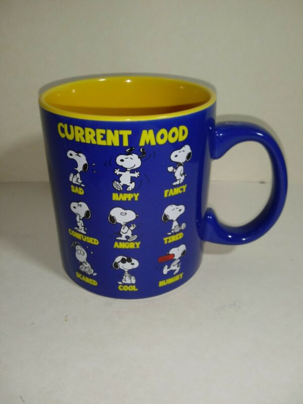 Snoopy Current Mood 20oz Mug
