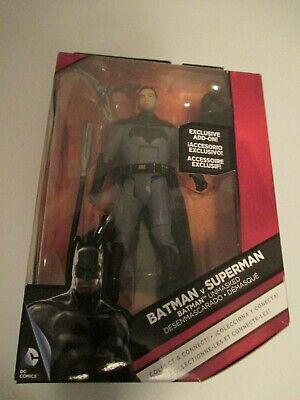 BATMAN vs SUPERMAN DC Comics MULTIVERSE Exclusive add-on UNMASKED RARE VHTF