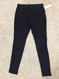 JUNE & DAISY womens Treggings BLACK trousers + leggings X-LARGE 18-20