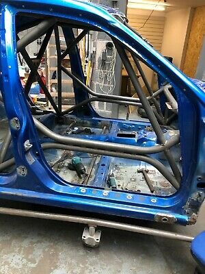 subaru impreza motorsport roll caged bodyshell rally / drift car with V5