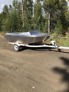 New welded 3m head water jet boat