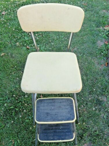 Vintage Cosco Two Step Stool Chair, Vintage Steep Stool Chair~ Local pickup OHIO