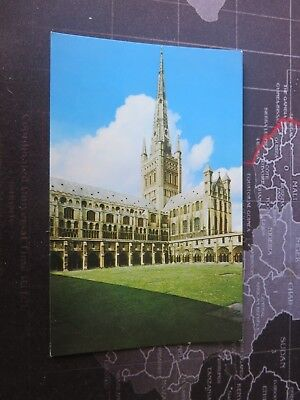 Postcard, Norwich Cathedral, Norfolk. 1980/90s