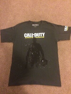 CALL OF DUTY: Infinite Warfare video game T-Shirt size Large